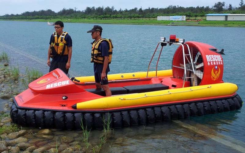 Taiwan Rescue Hovercraft
